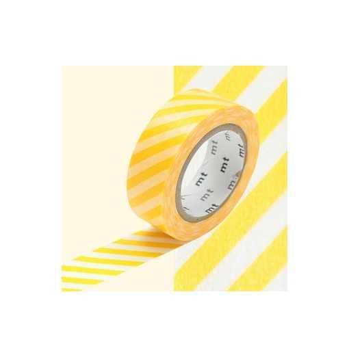 Masking Tape MT Stripe Yellow