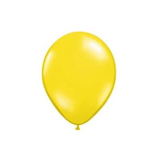 Ballon Jaune Citron 28cm