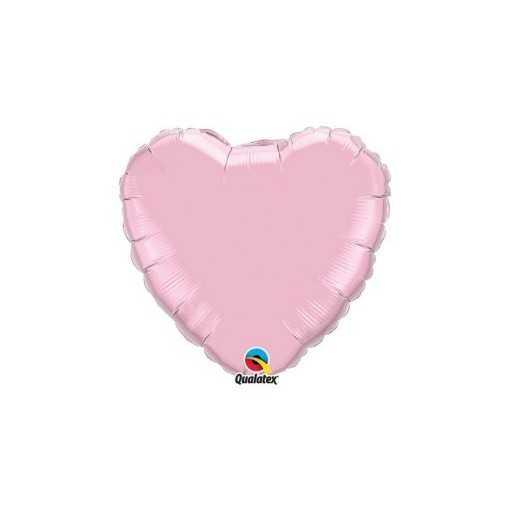 Petit ballon coeur Nacré Lavande - 15cm
