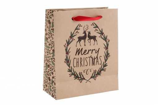 "Sac cadeau ""Merry Chistmas""..."