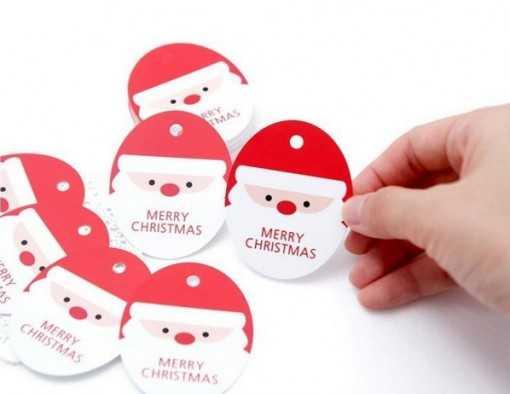 Étiquette Père Noël