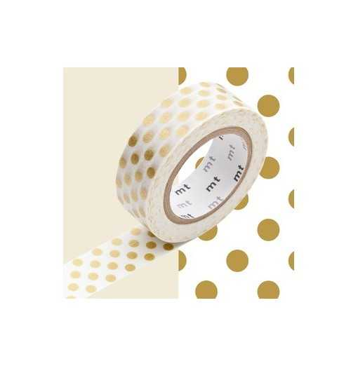 Masking Tape MT Dot Gold