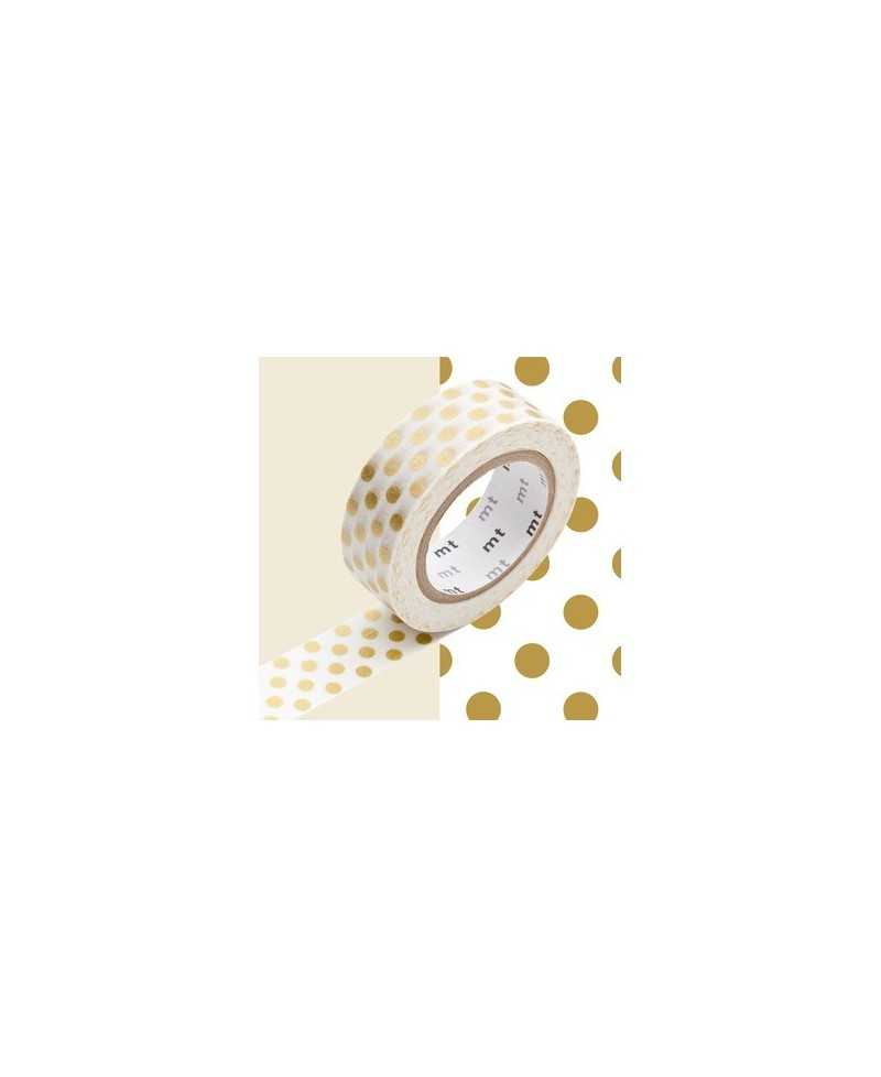 Masking Tape MT Dot Gold