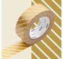 Masking Tape MT Stripe Gold