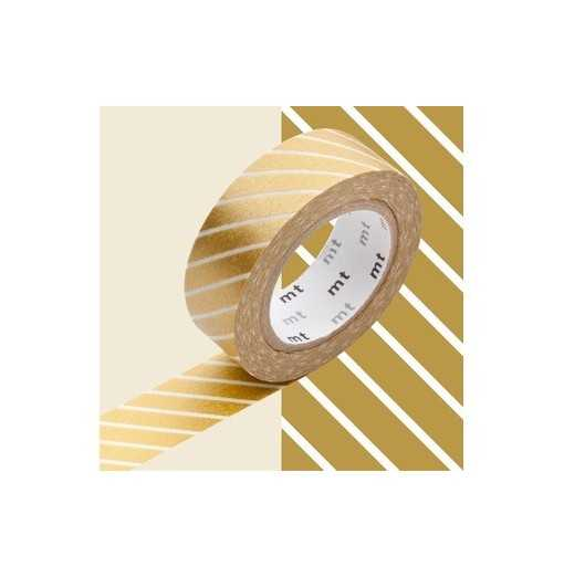 Masking Tape MT Stripe Gold