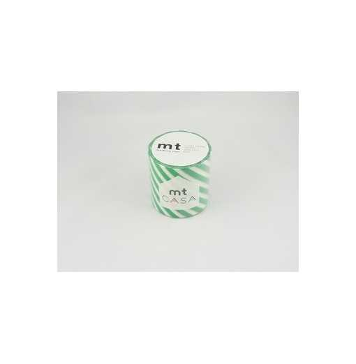 Masking Tape Casa Stripe Green 5cm