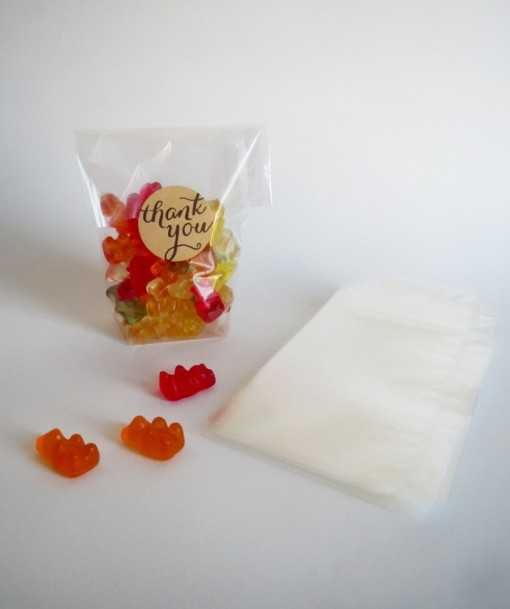 Sachet transparent - petit...