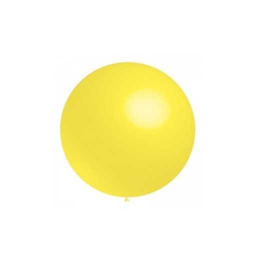 Ballon géant Jaune Citron -...