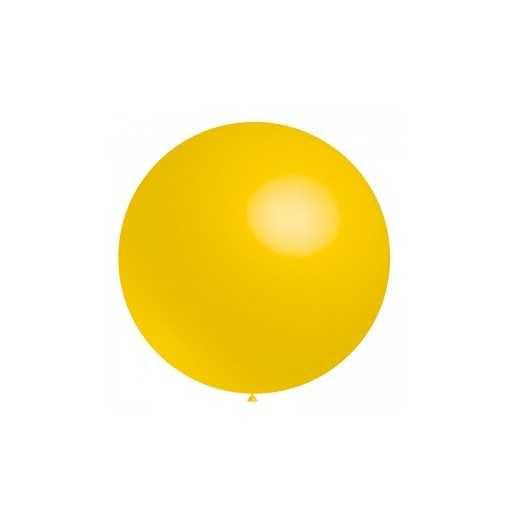 Ballon géant Jaune Or - 60cm