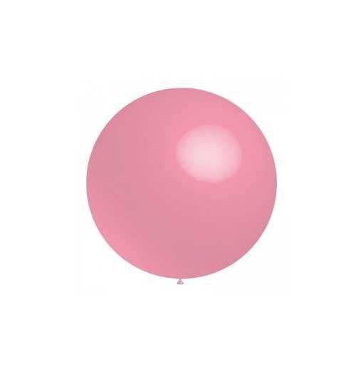 Ballon géant Rose clair - 60cm