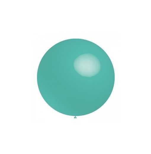Ballon géant Turquoise - 60cm