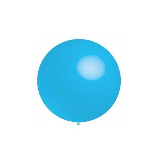 Ballon géant Bleu - 60cm