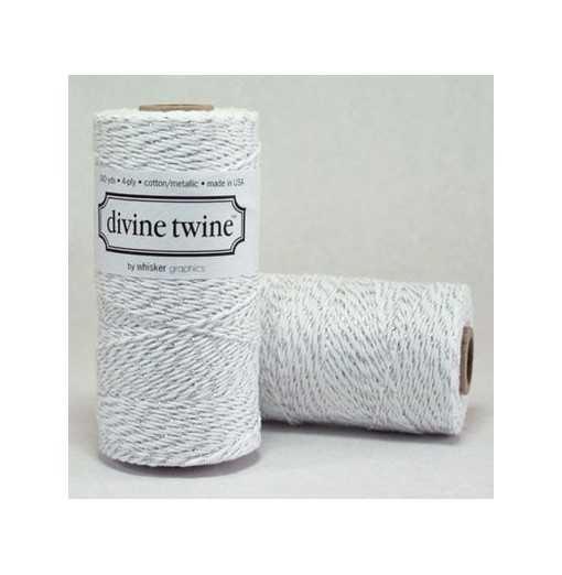 Baker twine Silver Metallic - au mètre