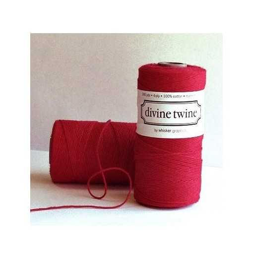 Baker twine Solid Red - au...