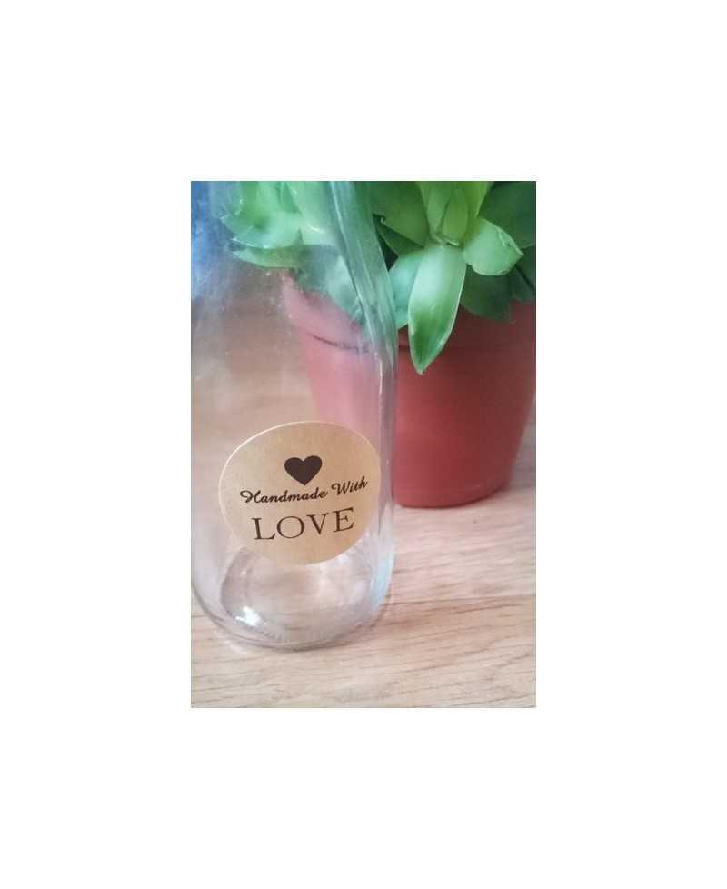 "Sticker ""Handmade With Love"""