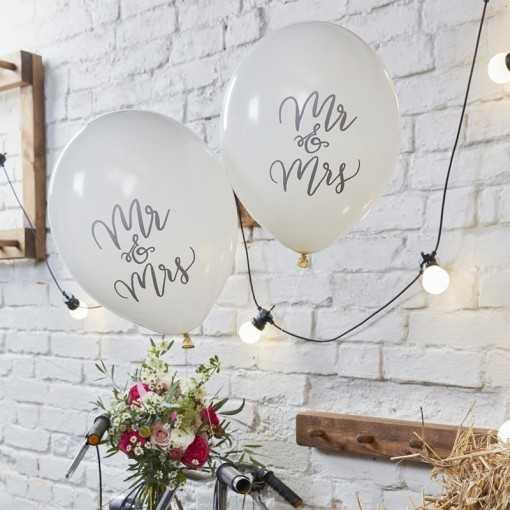 Ballon Mr & Mrs