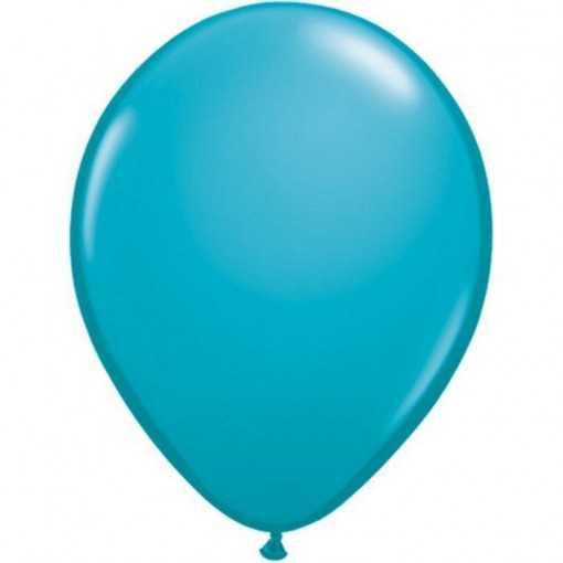 Ballon Bleu Caraïbes 28cm