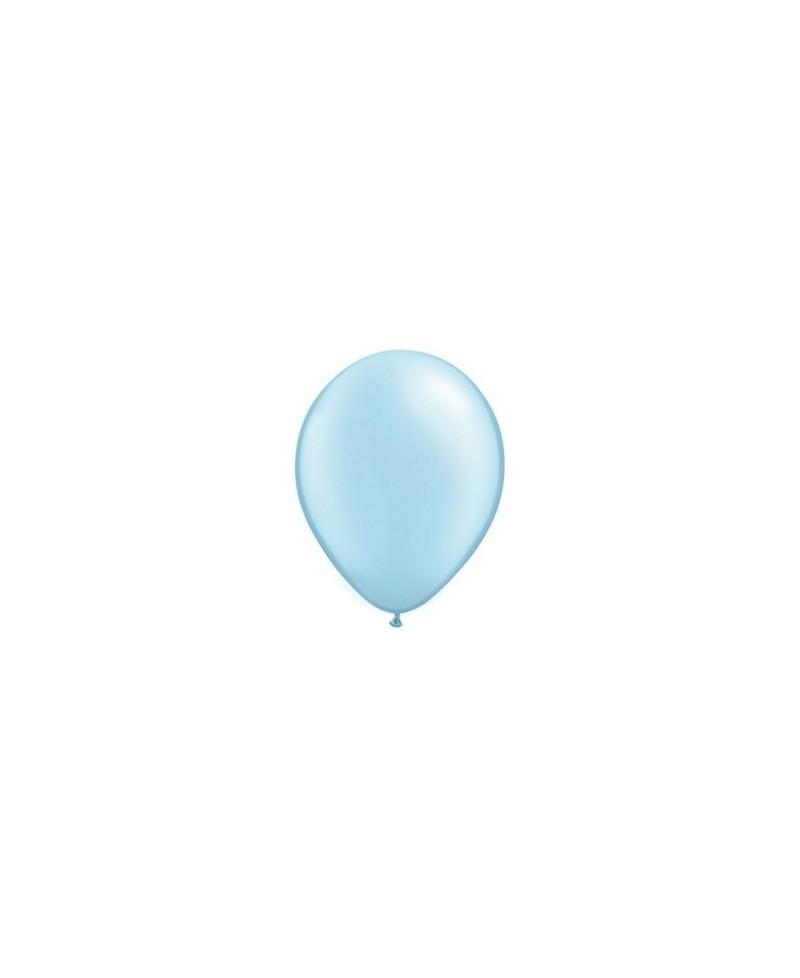 Ballon Nacré Bleu Clair 28cm