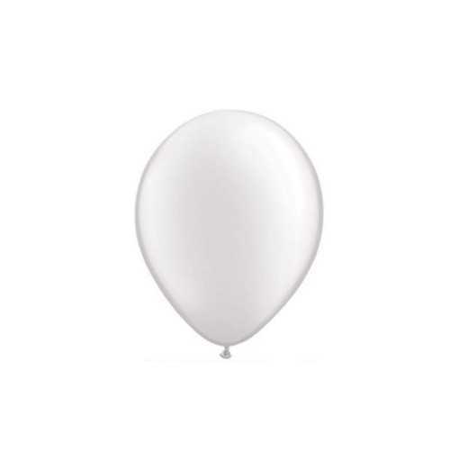 Ballon Nacré Blanc 28cm