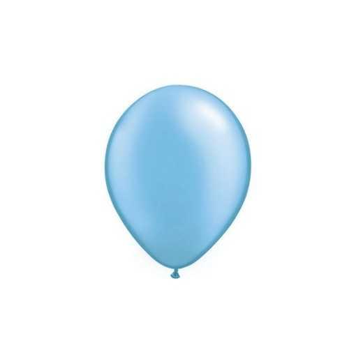 Ballon Nacré Bleu Azur 28cm