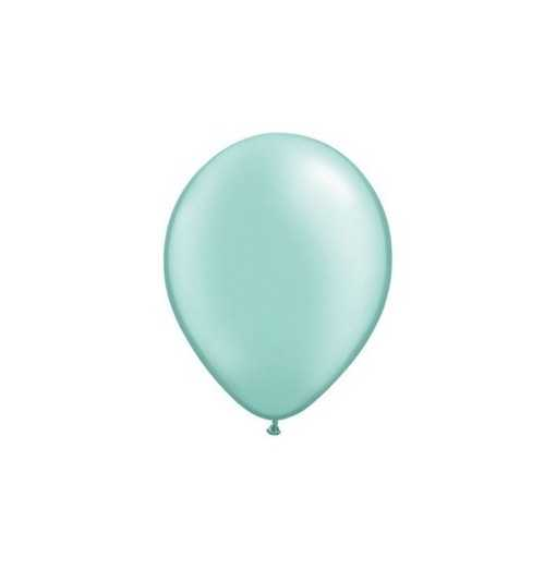 Ballon Nacré Vert Menthe 28cm
