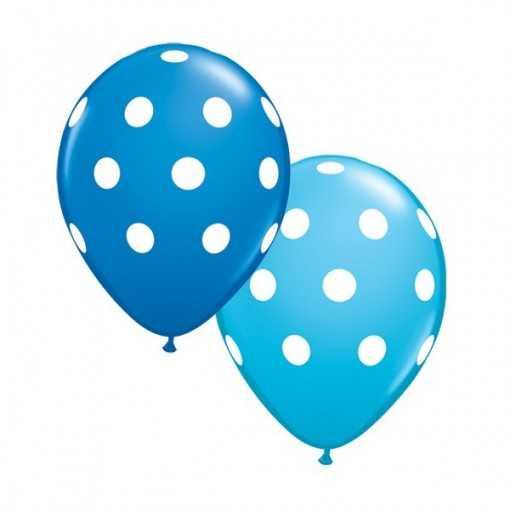 Ballon Bleu clair et Bleu...