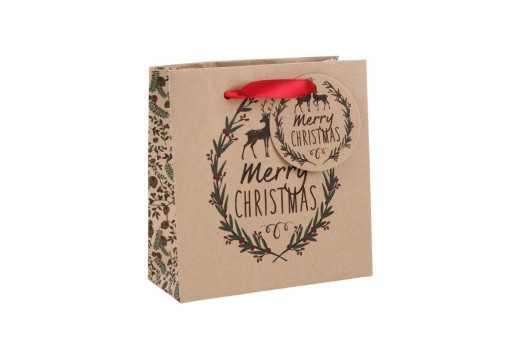 "Petit sac cadeau ""Merry..."