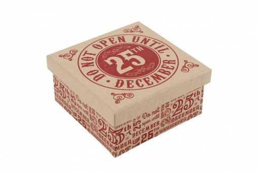 Boite Cadeau 25th December - 10 x 10cm