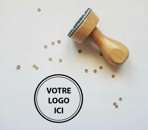 Tampon personnalisé - Logo entreprise