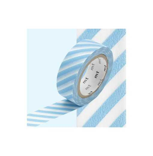 Masking Tape MT Stripe Baby Blue