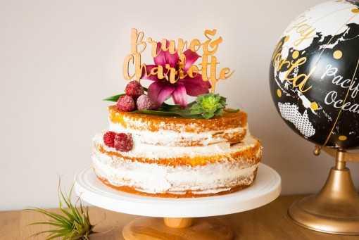 "Cake topper ""Prénoms"""