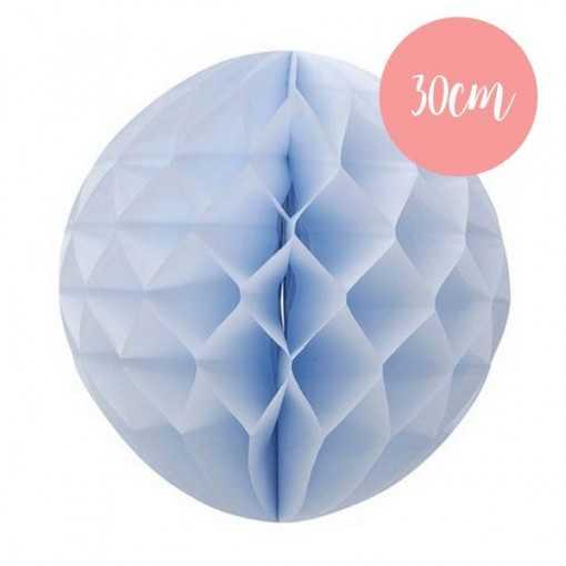 Boule alvéolée Bleu ciel - 30cm