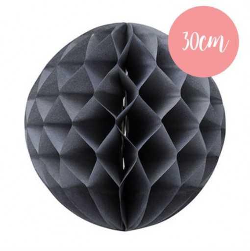 Boule alvéolée Gris - 30cm