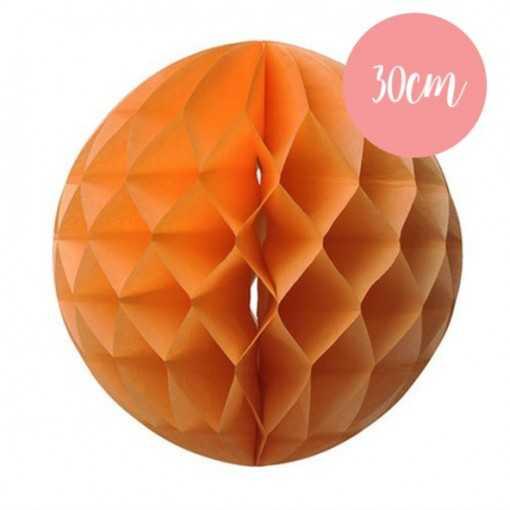 Boule alvéolée Pêche - 30cm