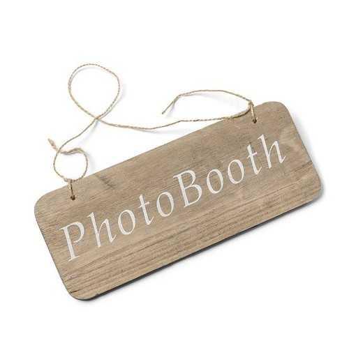 "Pancartes en bois ""Photobooth"""