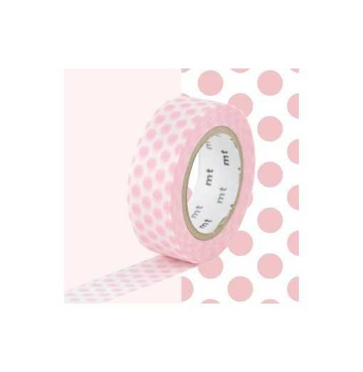 Masking Tape MT Dot Strawberry Milk