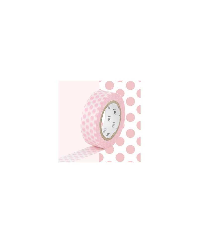 Masking Tape MT Dot Strawberry Milk