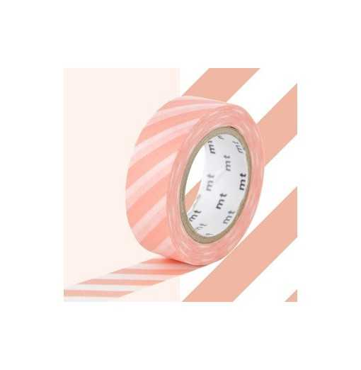 Masking Tape MT Stripe Salmon