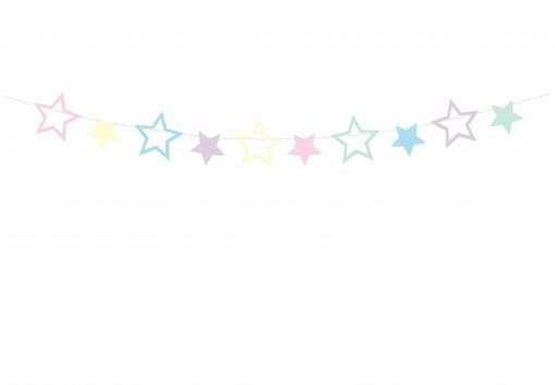 Guirlande Etoiles Multicolores