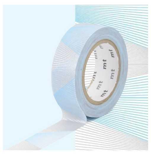 Masking Tape MT Oblique Argent