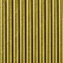 Paille en papier - Rayée dorée shinny