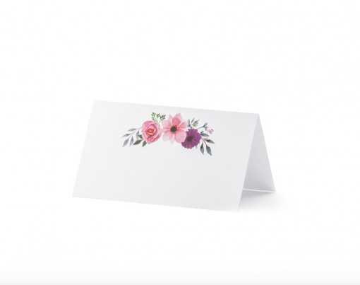 """Marque-place """"Floral"""""""