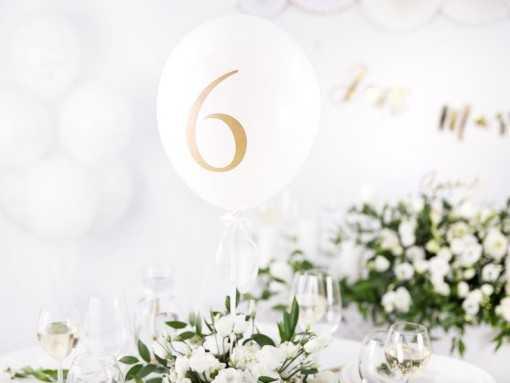 Numéros de table Ballons -...