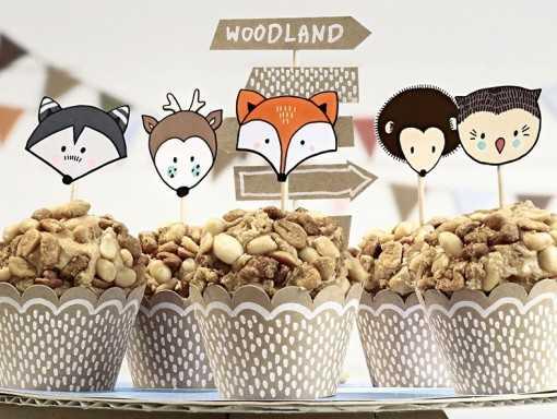 Pack de 6 supports à cupcakes