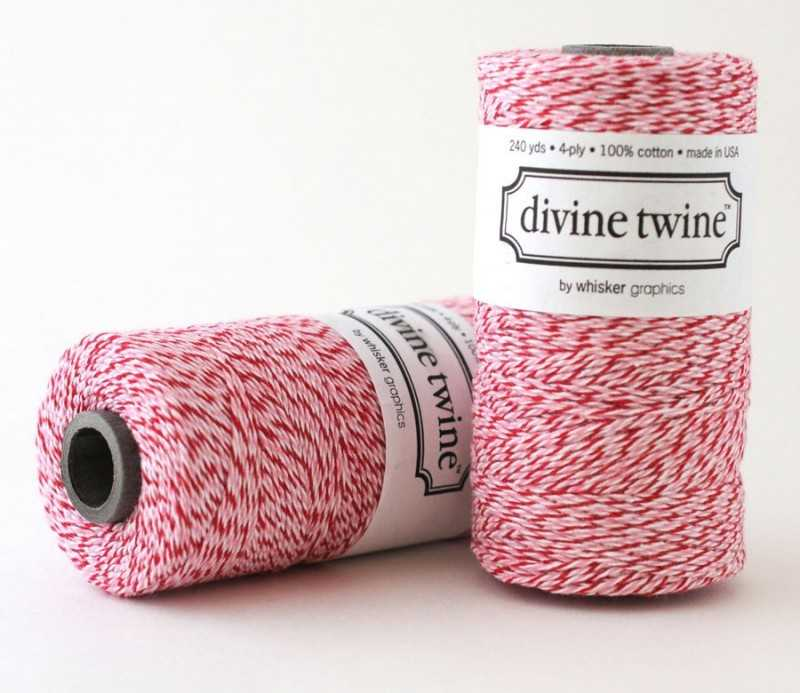 Baker twine duo rose