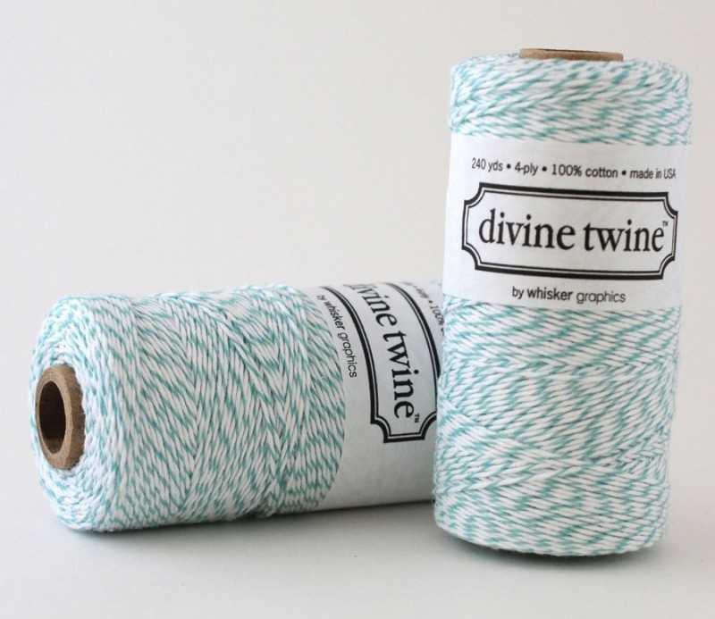 Baker twine turquoise