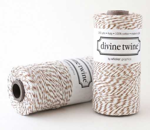 Baker twine Brown Sugar - au mètre