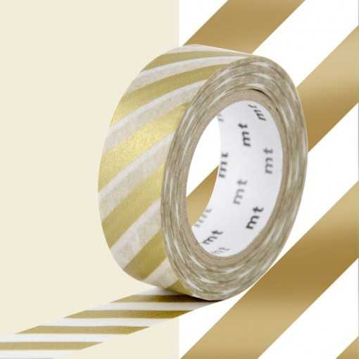 Masking Tape MT Stripe Gold 2