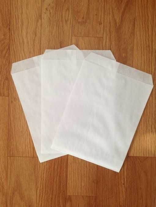 Sachet papier blanc - grand...