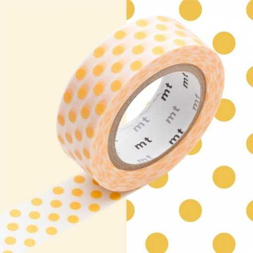 Masking Tape MT Dot Apricot